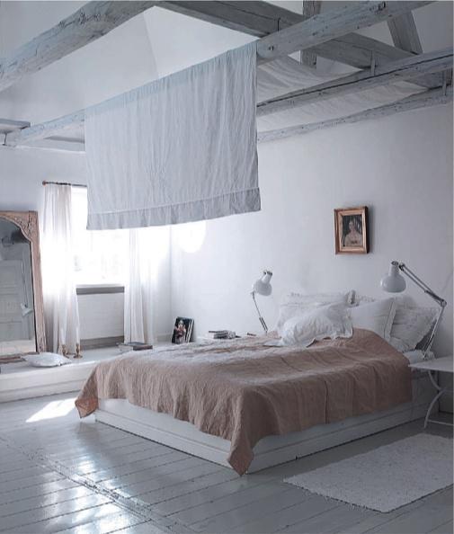 Io credo nel rosa interior break - Angolo studio in camera da letto ...