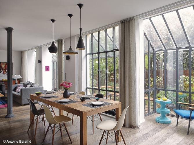 Loft a parigi interior break for Verriere style loft