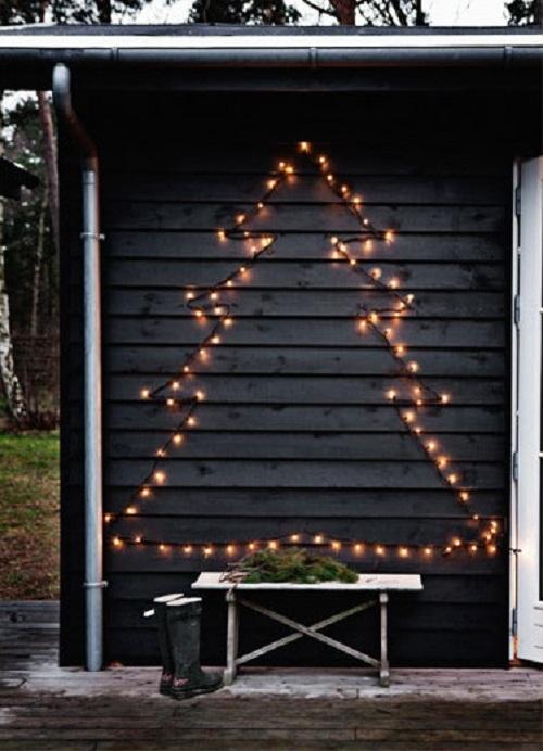 albero Natale luci