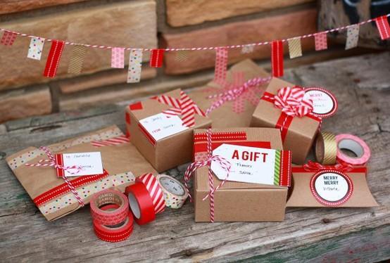 Connu Idee per confezionare i regali di Natale - Interior Break KI82
