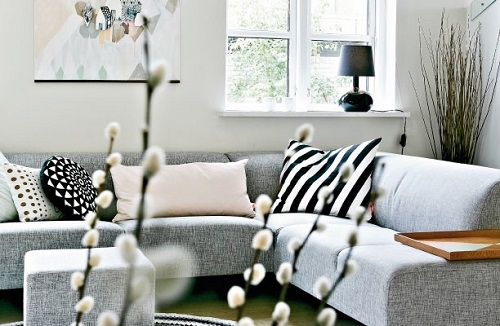 cosy and calm living