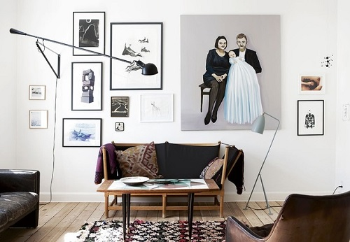 Cosa Mettere Dietro Al Divano : Decorare la parete dietro al divano
