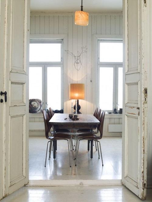 Home tour vivere in una vecchia scuola interior break - Case norvegesi interni ...