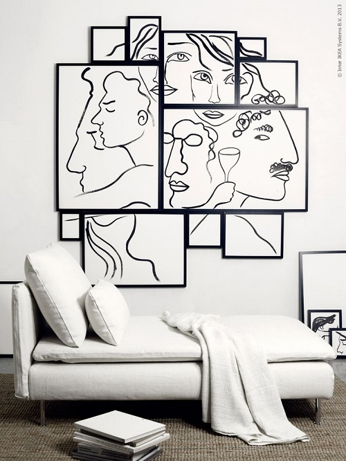 Un quadro per stupire interior break for Ikea quadri stampe