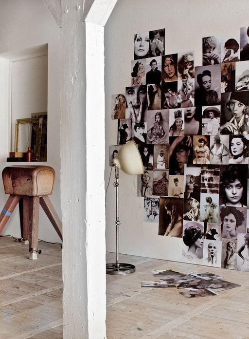 Decorare con le foto for Abbellire parete