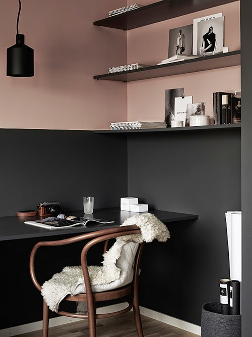 A new project by pella hedeby and marie ramse interior break - Divano color prugna ...