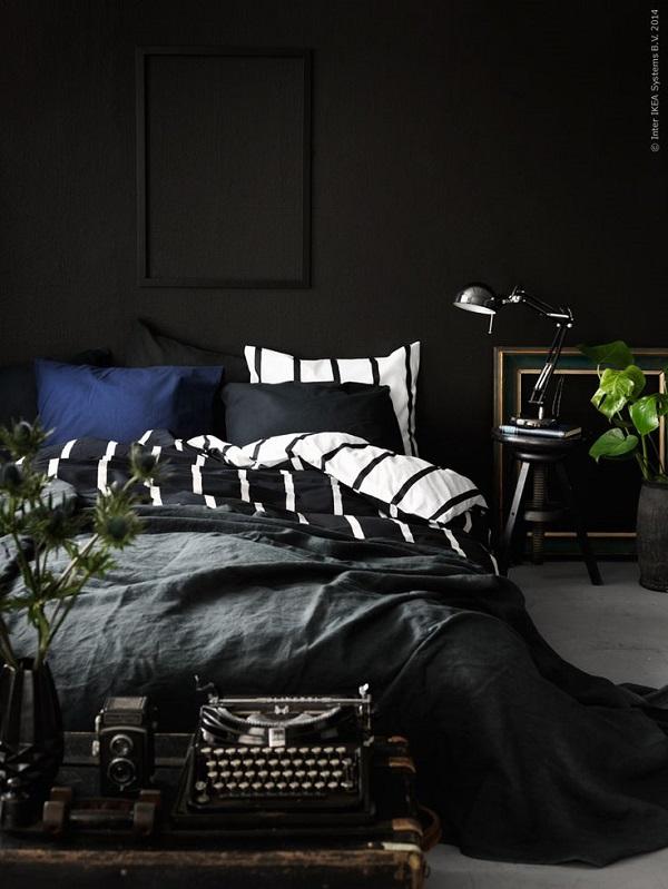pareti nere