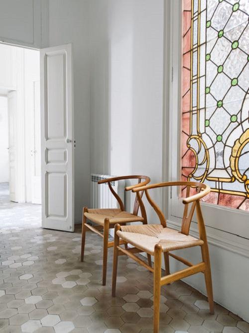 Un appartamento Art Nouveau