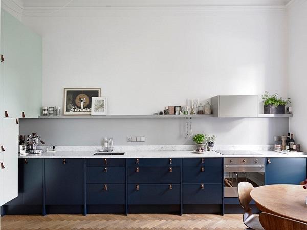 accessori cucina in vista. minimal kitchen in white and raw ...