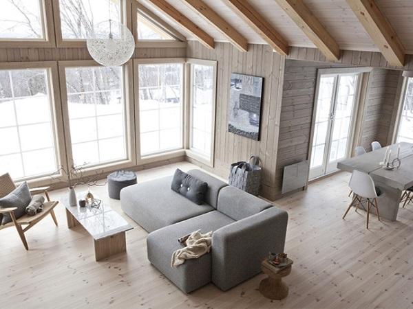 Uno chalet per i design addicted interior break - Case norvegesi interni ...