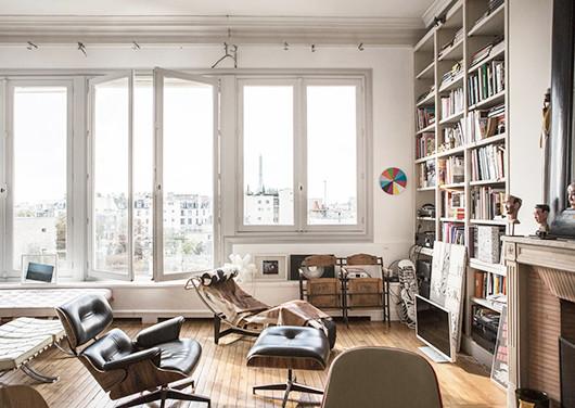Appartamento a parigi for Interni parigini