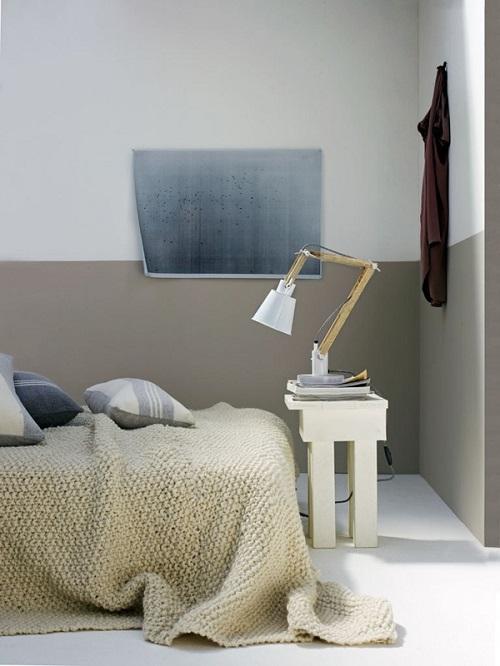 pareti bicolore