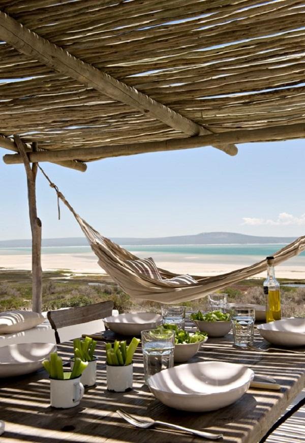i miei preferiti della settimana #58: speciale estate - casa in Sudafrica - spazio esterno con amaca