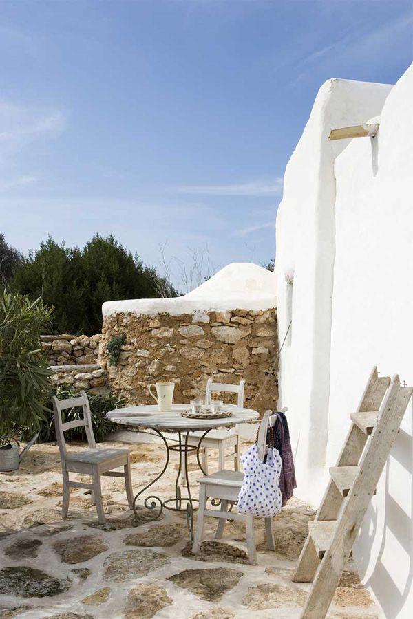 rifugio a Formentera - spazio esterno