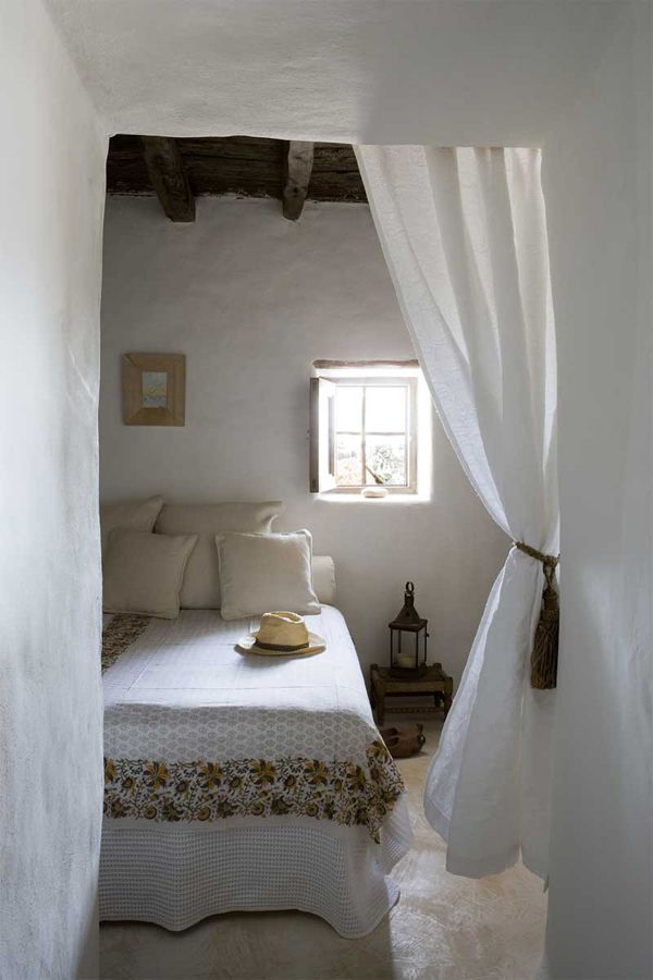 rifugio a Formentera - camera da letto