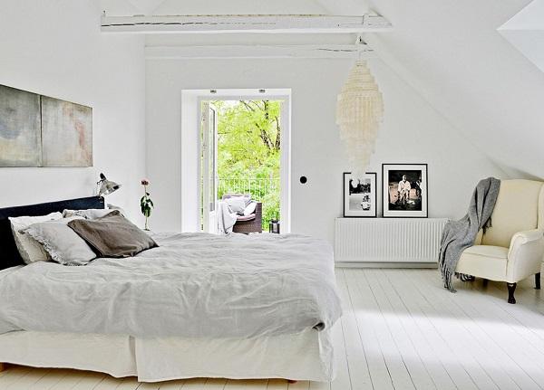 vecchia scuola - camera da letto dal mood rilassante
