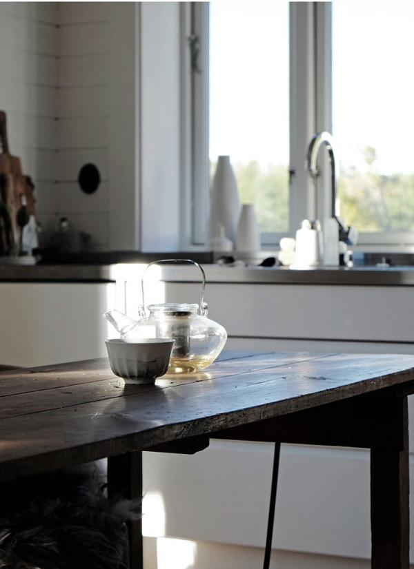 Tavoli in legno grezzo interior break - Tavolo legno grezzo design ...