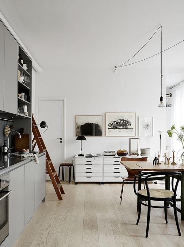 un appartamento invitante a stoccolma