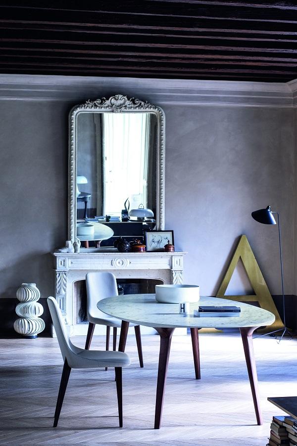 tavoli Ademar di Giulio Iacchetti per Bross Italy
