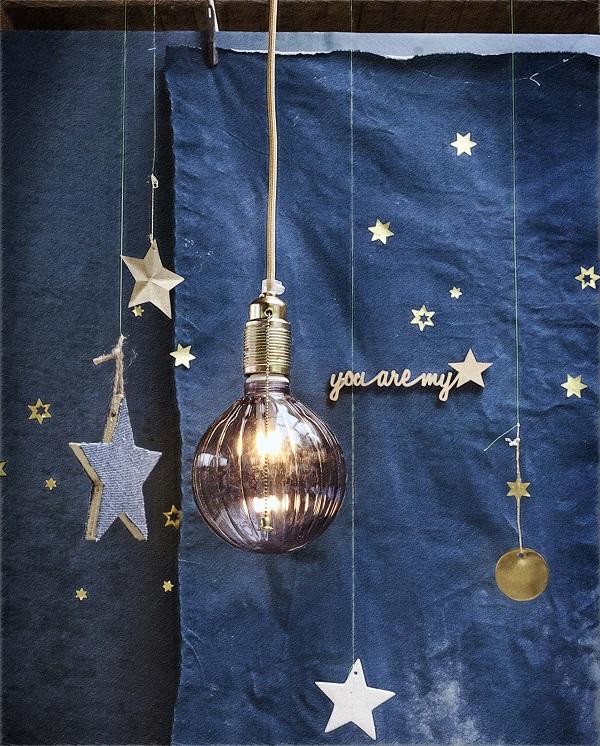 natale blu stelle