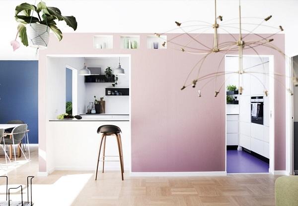 colore sulle pareti