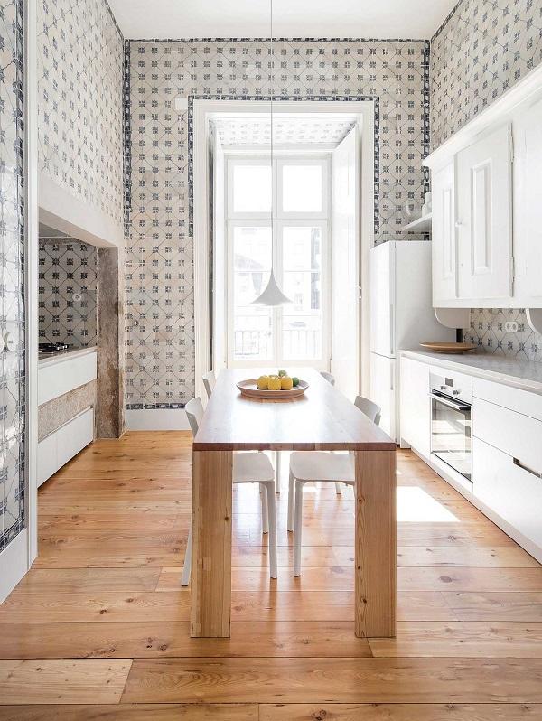 Un appartamento d 39 epoca a lisbona interior break for Case d epoca