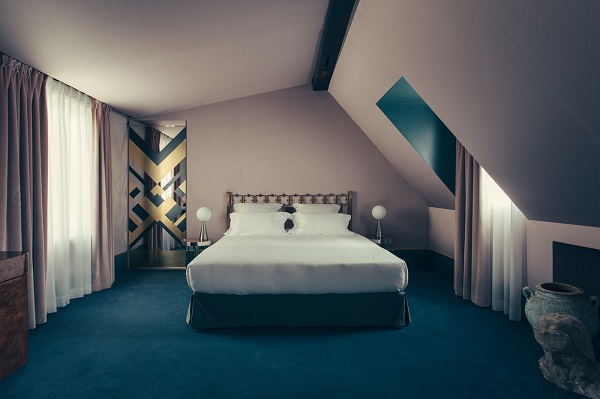 Hotel Saint Marc - interior design by Dimore Studio