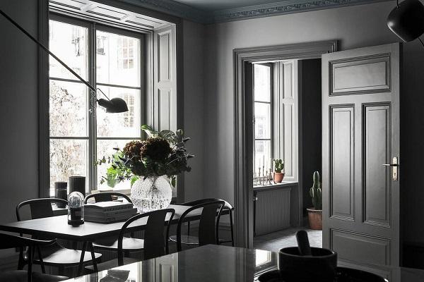 Soffitto Blu Notte : ... in una stanza Un appartamento con un favoloso ...