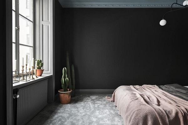 appartamento soffitto colorato