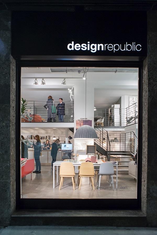 Muuto arriva a milano da design republic interior break for Design republic
