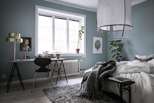 Camera Da Letto Blu Balena : Parete blu camera da letto gallery of beautiful pareti blu camera