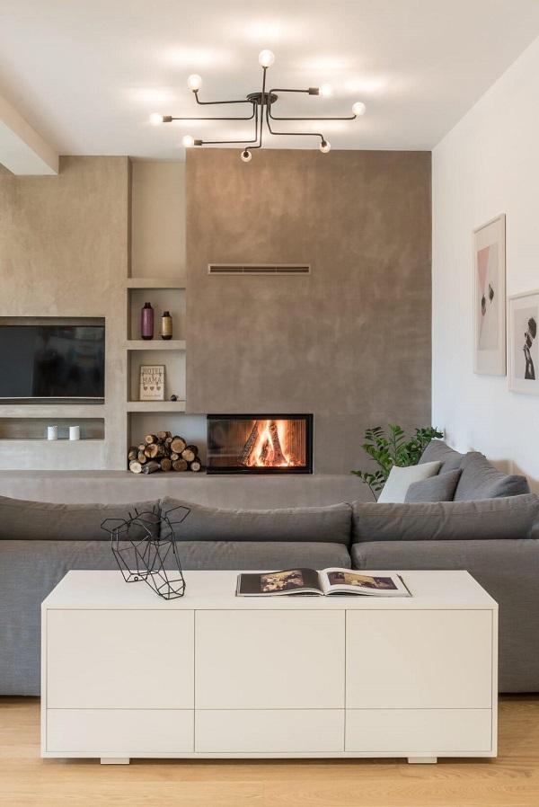appartamento grecia stile scandinavo