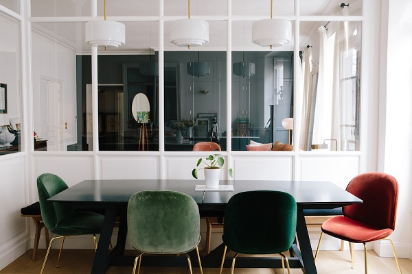Uno stile casual chic interior break for Interni parigini