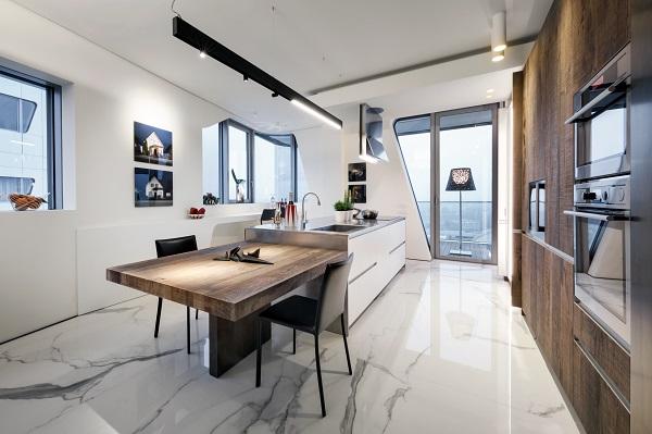 Penthouse one 11 interior break for Appartamenti prestigiosi milano