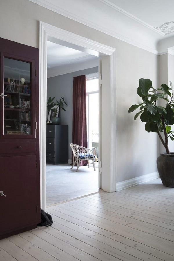 casa della fashion designer danese Yvonne Koné