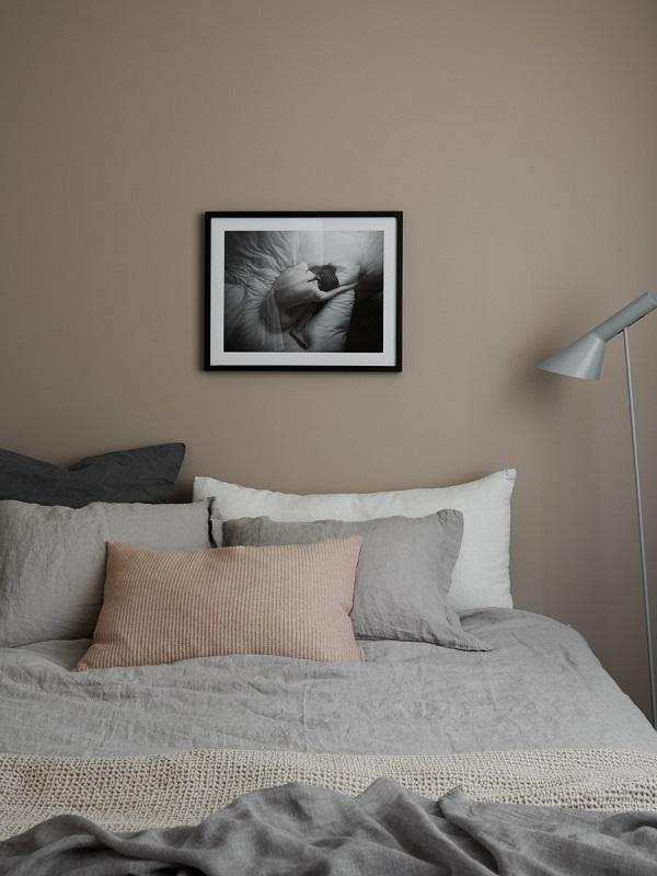 camera da letto accenti rosa