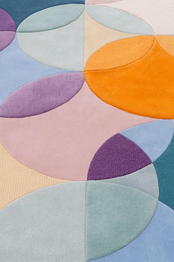 tappeto modulare disegnato da Lim + Lu per Tai Ping