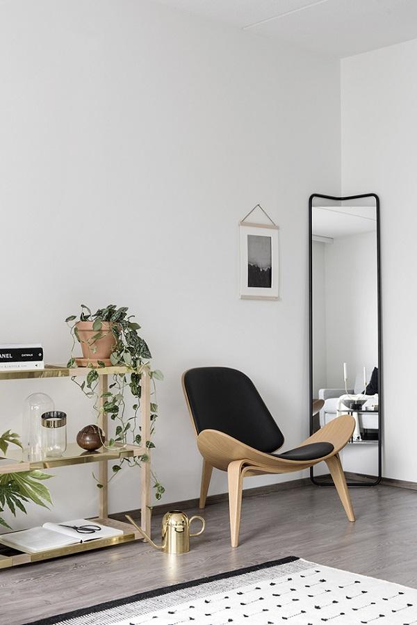 casa in finlandia con styling di laura seppanen