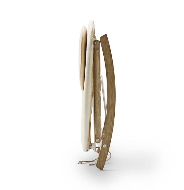 Rocking Nest Chair design by Anker Bak for Carl Hansen & Son