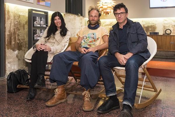 presso lo showroom Carl Hansen and Son di Milano, Alessia Forte, Anker Bak, Massimo Rosati
