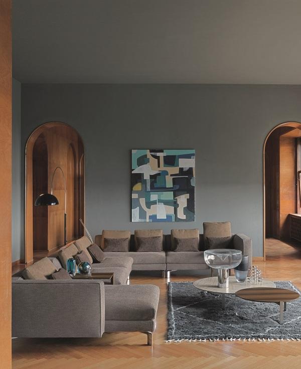 divano modulare TAY, design by Massimo Castagna, Flou