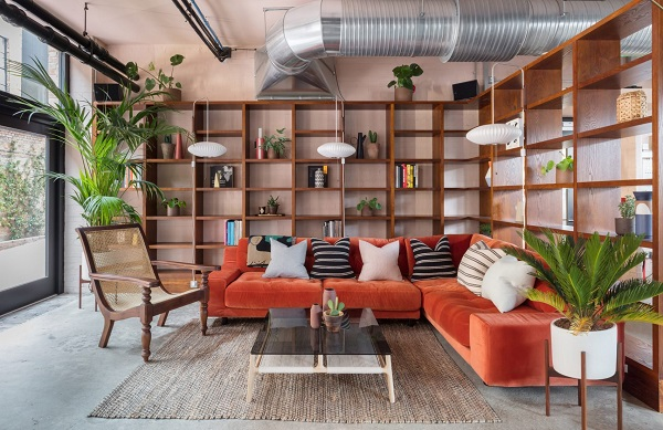 spazio di coworking londra, interior design by sella concept