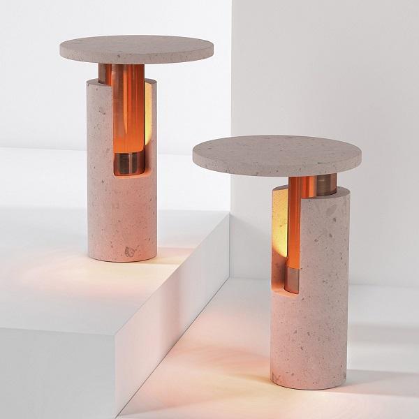 lampade ambra, design david pompa
