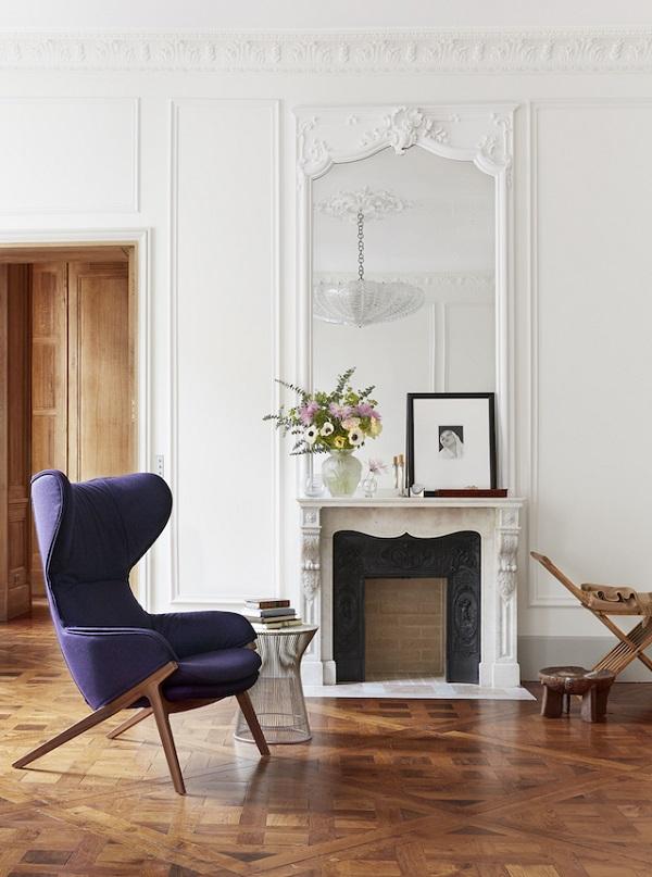 casa parigi con poltrona ultra violet