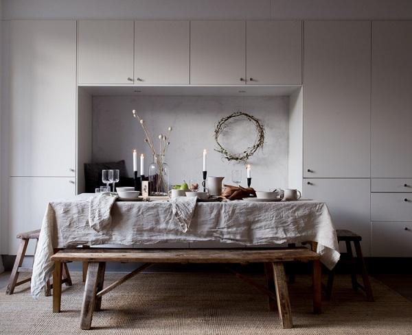 7 ispirazioni per la tavola di natale interior break - Idee tavola natale ...