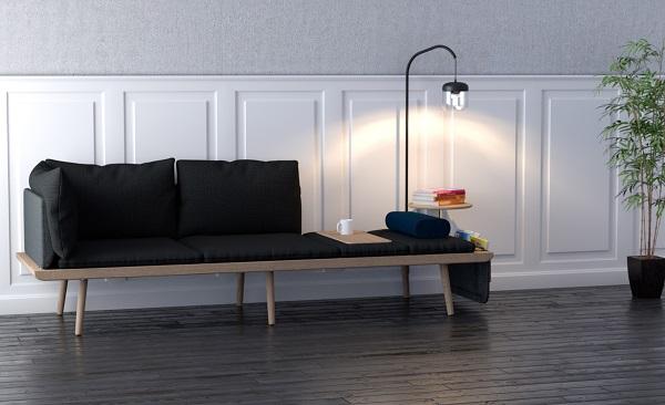 lounge around sofa, Vita Copenhagen