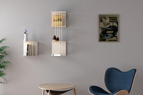 teaser shelf, Vita Copenhagen