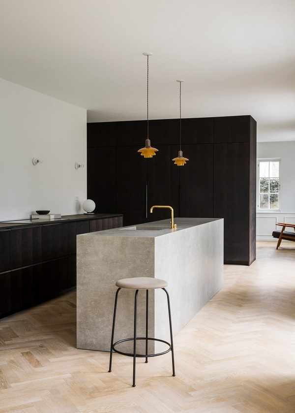ph house: villa copenhagen, interior design by norm architects
