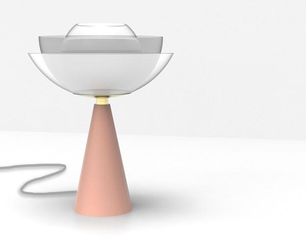 Ventura Future - lampada Lotus, design by Serena Confalonieri, Mason Editions