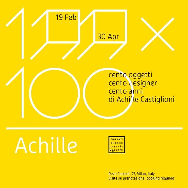 100x100 Achille - Fondazione Castiglioni
